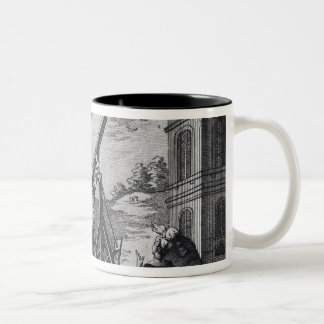 Halley's Comet Observed in 1759 by Cassini III Two-Tone Coffee Mug