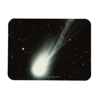 Halleys Comet Rectangular Photo Magnet