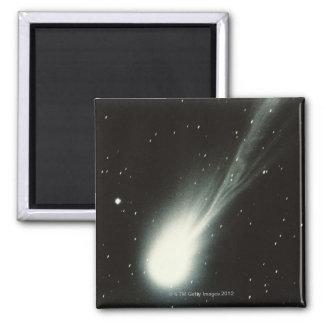 Halleys Comet Square Magnet