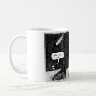 Halley's Comic Basic White Mug