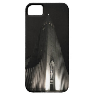 Hallgrimskirkja church at night barely there iPhone 5 case