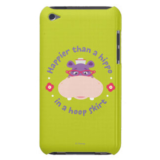 Hallie -Happier Than a Hippo in a Hoop Skirt iPod Case-Mate Case