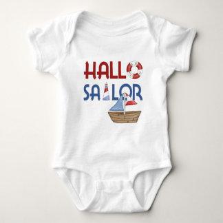 Hallo Sailor Baby Bodysuit
