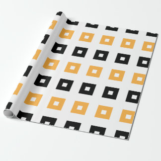 Hallow Squares Wrapping Paper