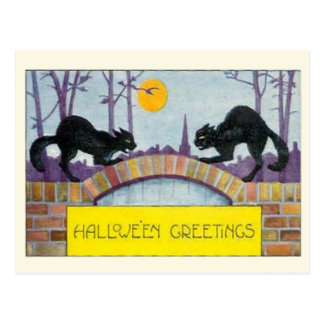Hallowe'en Greetings Postcard