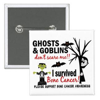 Halloween 1 Bone Cancer Survivor Pinback Button