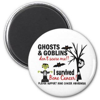 Halloween 1 Bone Cancer Survivor Fridge Magnets