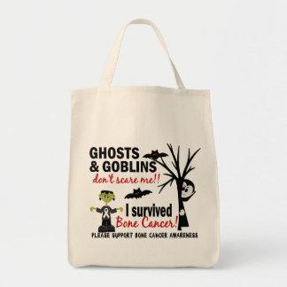 Halloween 1 Bone Cancer Survivor Tote Bags