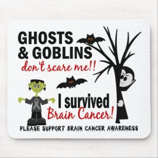 Halloween 1 Brain Cancer Survivor Mouse Pads