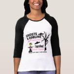Halloween 1 Breast Cancer Survivor Shirts