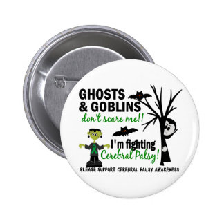Halloween 1 Cerebral Palsy Warrior Buttons