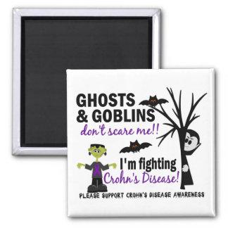 Halloween 1 Crohn's Disease Warrior Square Magnet