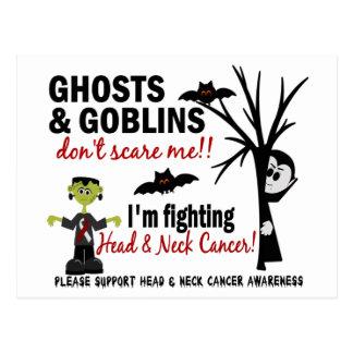 Halloween 1 Head And Neck Cancer Warrior Postcard