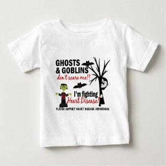 Halloween 1 Heart Disease Warrior Baby T-Shirt