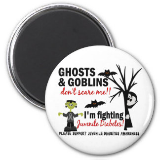 Halloween 1 Juvenile Diabetes Warrior Fridge Magnet