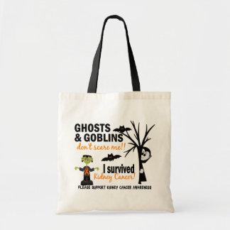 Halloween 1 Kidney Cancer Survivor Budget Tote Bag