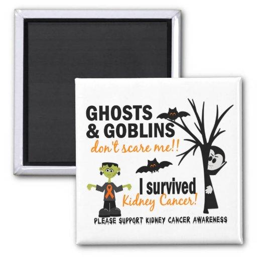 Halloween 1 Kidney Cancer Survivor Magnets