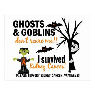 Halloween 1 Kidney Cancer Survivor Postcards