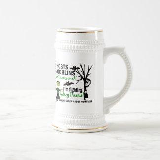 Halloween 1 Kidney Disease Warrior Coffee Mugs