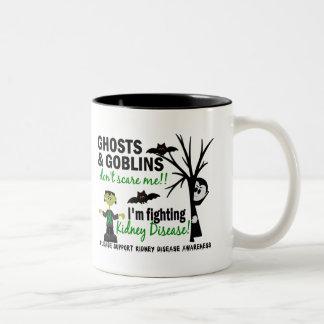 Halloween 1 Kidney Disease Warrior Mugs