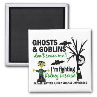 Halloween 1 Kidney Disease Warrior Square Magnet