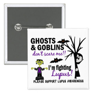 Halloween 1 Lupus Warrior 15 Cm Square Badge