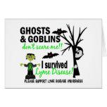 Halloween 1 Lyme Disease Survivor Card