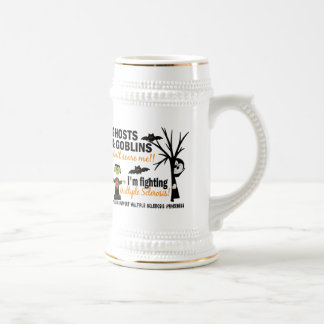 Halloween 1 Multiple Sclerosis Warrior Coffee Mug