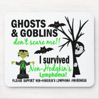 Halloween 1 Non-Hodgkin's Lymphoma Survivor Mouse Pad