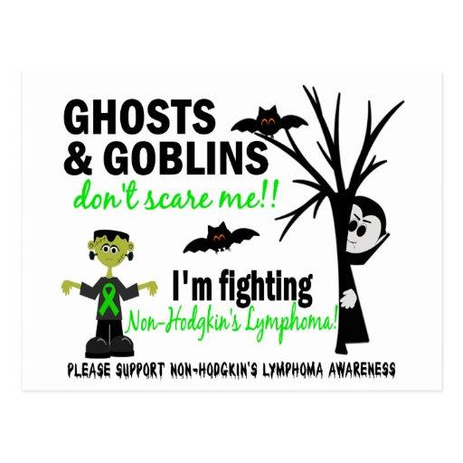Halloween 1 Non-Hodgkin's Lymphoma Warrior Postcard