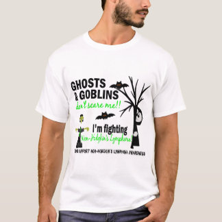 Halloween 1 Non-Hodgkin's Lymphoma Warrior T-Shirt