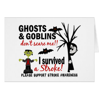 Halloween 1 Stroke Survivor Cards
