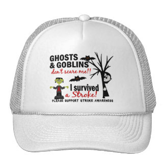Halloween 1 Stroke Survivor Mesh Hats