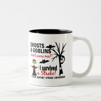 Halloween 1 Stroke Survivor Coffee Mug