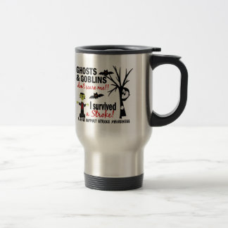 Halloween 1 Stroke Survivor Coffee Mugs