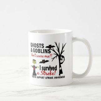 Halloween 1 Stroke Survivor Classic White Coffee Mug