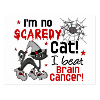 Halloween 2 Brain Cancer Survivor Postcard