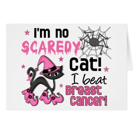 Halloween 2 Breast Cancer Survivor Greeting Card