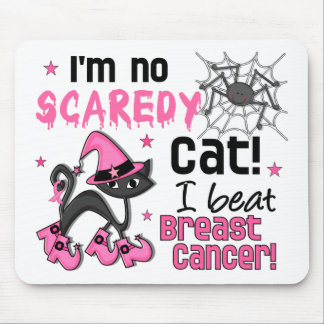 Halloween 2 Breast Cancer Survivor Mouse Mat
