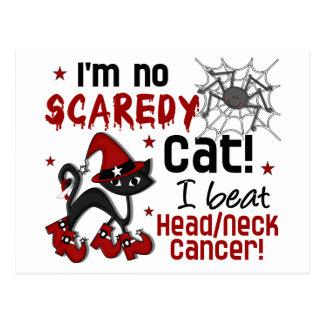 Halloween 2 Head Neck Cancer Survivor Postcard