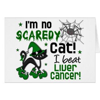 Halloween 2 Liver Cancer Survivor Greeting Card