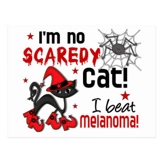 Halloween 2 Melanoma Survivor Post Cards
