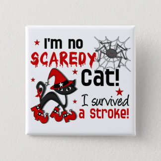 Halloween 2 Stroke Survivor 15 Cm Square Badge