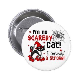 Halloween 2 Stroke Survivor 6 Cm Round Badge