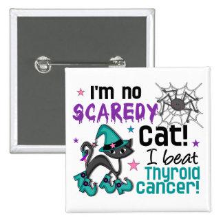 Halloween 2 Thyroid Cancer Survivor 15 Cm Square Badge
