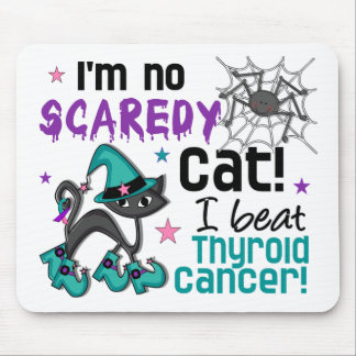 Halloween 2 Thyroid Cancer Survivor Mouse Pad