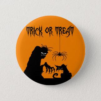 Halloween 6 Cm Round Badge