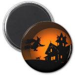 Halloween 6 Cm Round Magnet