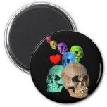 Halloween! 6 Cm Round Magnet