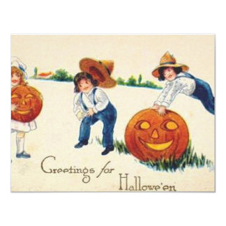 HALLOWEEN-70 11 CM X 14 CM INVITATION CARD